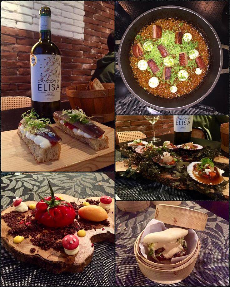 De 10 no, O Lagar da Estrella es de 20! Tostada de sardina ahumada, zamburiñas, bao de churrasco; riquísimos.  El arroz de cochinillo, increíble, de llorar ���� Y para rematar, un falso tomate que además de original, estaba buenísimo.  El broche de oro para nuestra escapada a #Galicia �� �� #oLagarDaEstrella #CancionDeElisa #AdegaDonaElisa #restaurante #ACoruña #LaCoruña #España #Spain #restaurant #food #foodie #yummy #delicioso #delicious #picoftheday #instafood #foodporn #gastronomia…