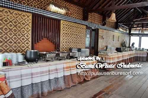 Floating Restaurant Pulau Pelangi Kepulauan Seribu