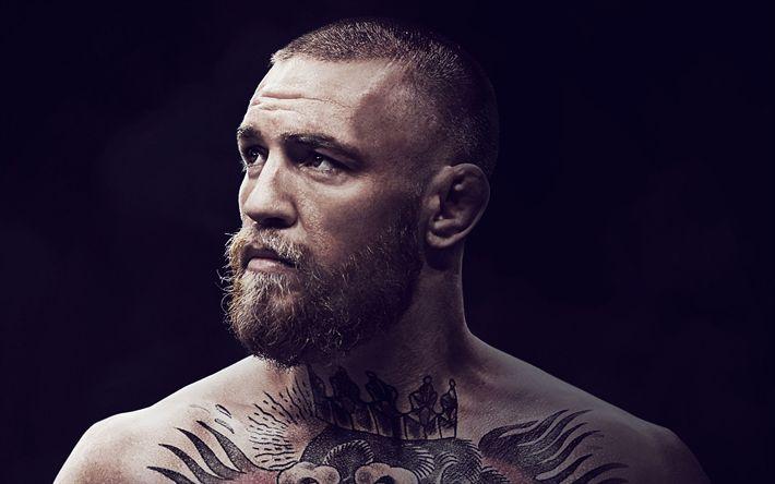 Download wallpapers Conor McGregor, UFC, 4K, Irish fighter, film 2017, UFC champion, Conor McGregor Notorious