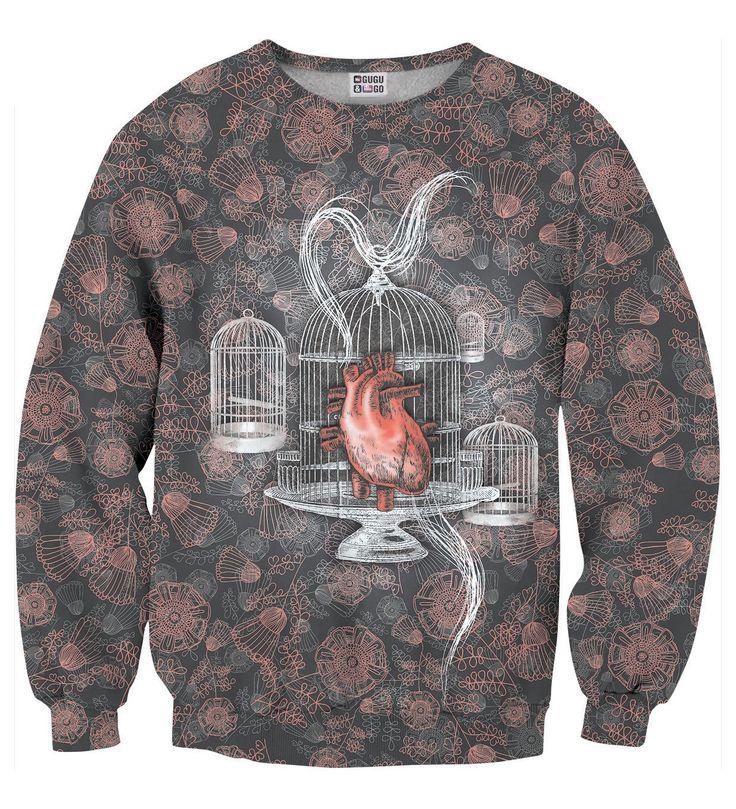 Heart sweater, Mr. GUGU & Miss GO