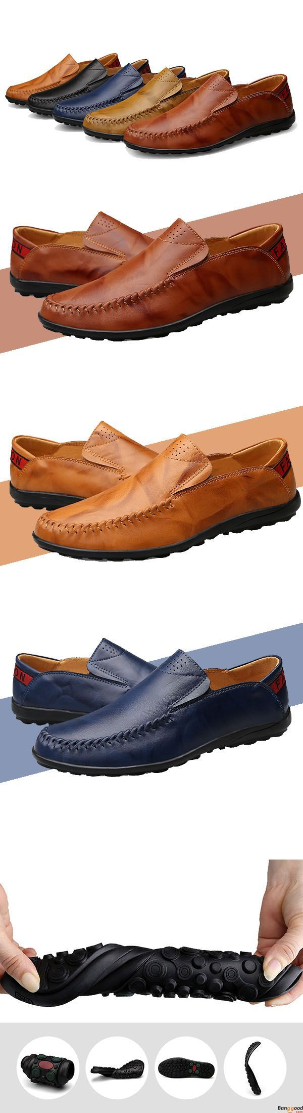 US$52.81+ Free Shipping. 5 colors available. Men loafers, casual comfortable shoes,  oxford shoes, boots, Fashion and chic, casual shoes, men's flats, oxford boots,leather short boots,loafers, casual oxford shoes,slip on  men's style, chic style, fashion