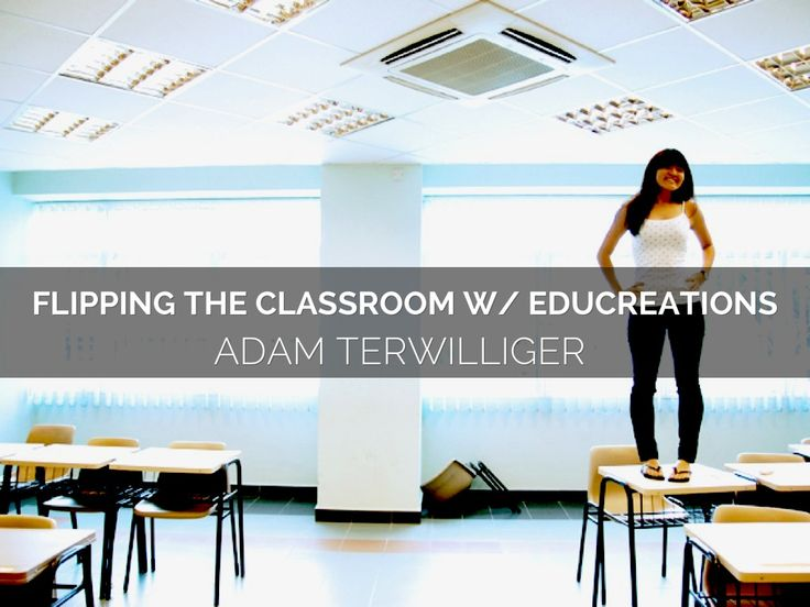 """Flipping The Classroom Using Educreations"" - A Haiku Deck by Adam Terwilliger"