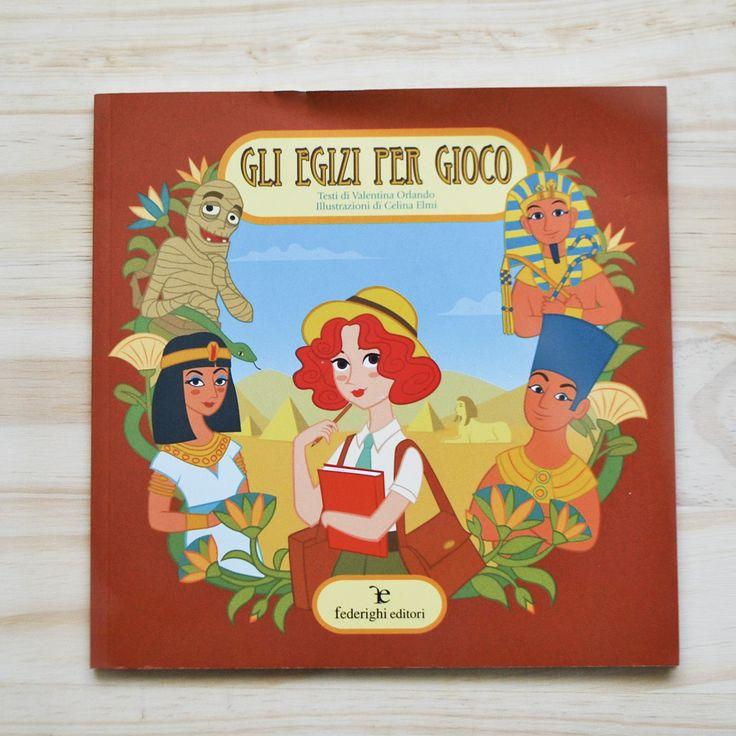 Autore:Valentina OrlandoIllustrazioni:Celina ElmiTitolo: Gli Egizi per giocoEdizione: Federighi EditoriGenere: Libro per bambiniData di pubbl