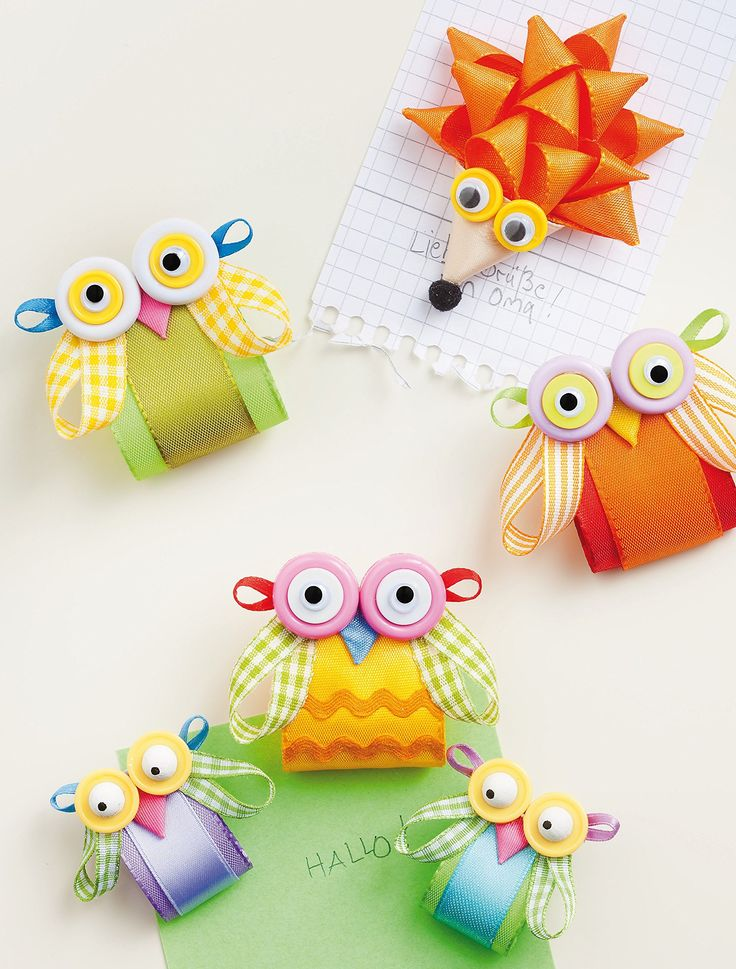 Figuras y adornos con cintas de tela flores animales mu ecos para regalar art - Flores de telas hechas a mano ...