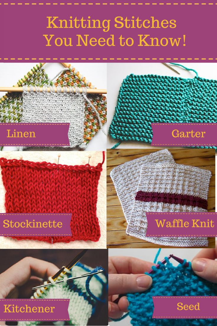 """Craftsy's """"Knitting Stitches You Need to Know"""" free PDF eGuide gives you 18 pages of tutorials, tips and tricks from knitting experts. Each tutorial will teach you a new stitch, allowing you to knit and purl your way around any project. Build your confidence and get ready to create fantastic knitted garments with this handy guide!"""