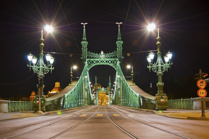 Hungary, Budapest by Night