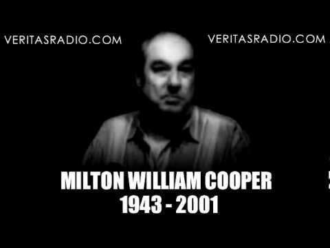 """Milton William """"Bill"""" Cooper predicts 9/11 and MORE on June 28, 2001. Milton William Cooper was an American conspiracy theorist, radio broadcaster, and author best known for his 1991 book, Behold a Pale Horse, in which he claimed global conspiracies, some involving aliens..TOP SECRET/MAJIC material WHICH HE SAW AND READ between the years 1970 and 1973 as a member of the Intelligence Briefing Team of the Commander in Chief of the Pacific Fleet."""
