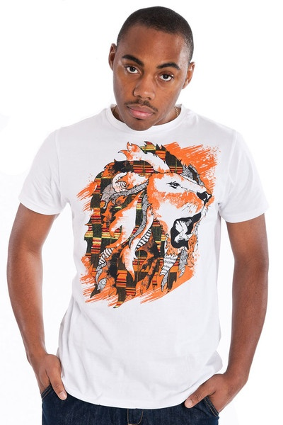 Courage T-shirt for Men from Cross Culture Fashion on model Shane WelshMen T Shirts, Men'S T Shirts, Courage T Shirts