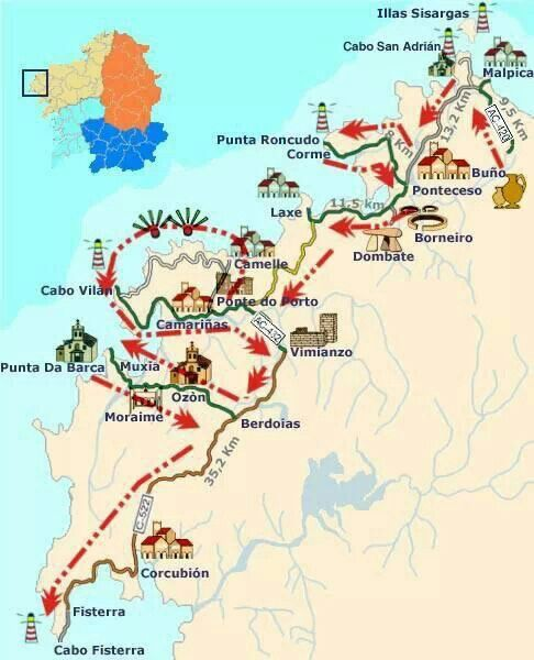 Best Mapas Images On Pinterest Cartography Travel And Europe - Portugal map costa verde