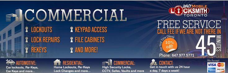 Commercial Locksmith Toronto