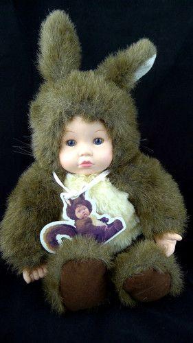 Dolls Anne Gedders Squirrel Baby Dolls & Bears