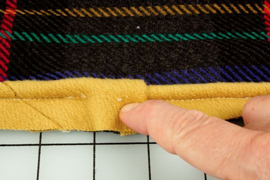 how to make & attach upholstery welting