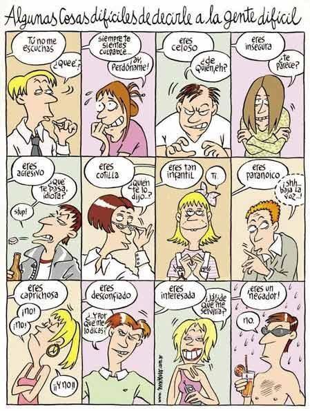 Personalidades...JA! yo: caprichosa!!  y tambien un poco desconfiada Ja!