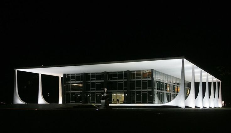 OSCAR NIEMEYER - La corte suprema federale a Brasilia