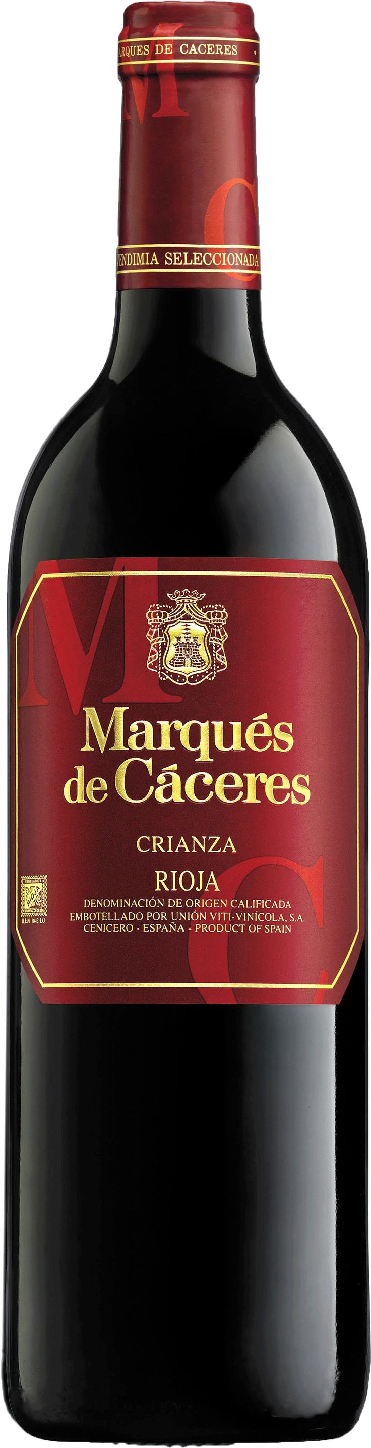 Marques de Caceres CRIANZA. A Spanish Red Wine from la Rioja.