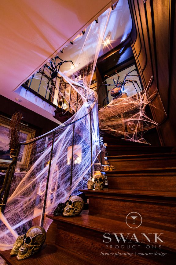 Great Halloween Stairs By Swank Productions NYC