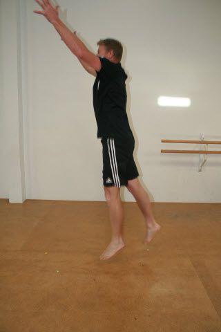lunge split jump