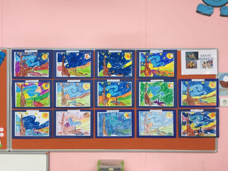 Van Gogh Yıldızlı Geceler
