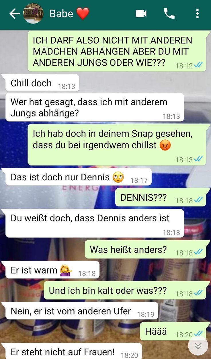Chatverlauf: Freundin hat schw*len besten Freund, aber ihr