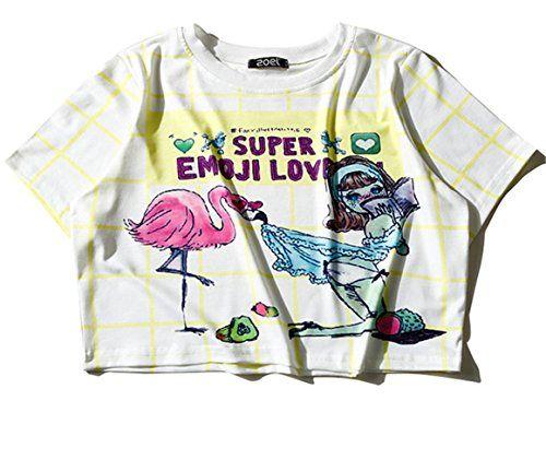 (シーファニー)Cfanny レディース Tシャツ ショット丈 チェック 半袖 プリント T3656 黄色い Cf... https://www.amazon.co.jp/dp/B06XDKQ4GR/ref=cm_sw_r_pi_dp_x_rVj3yb754MME3