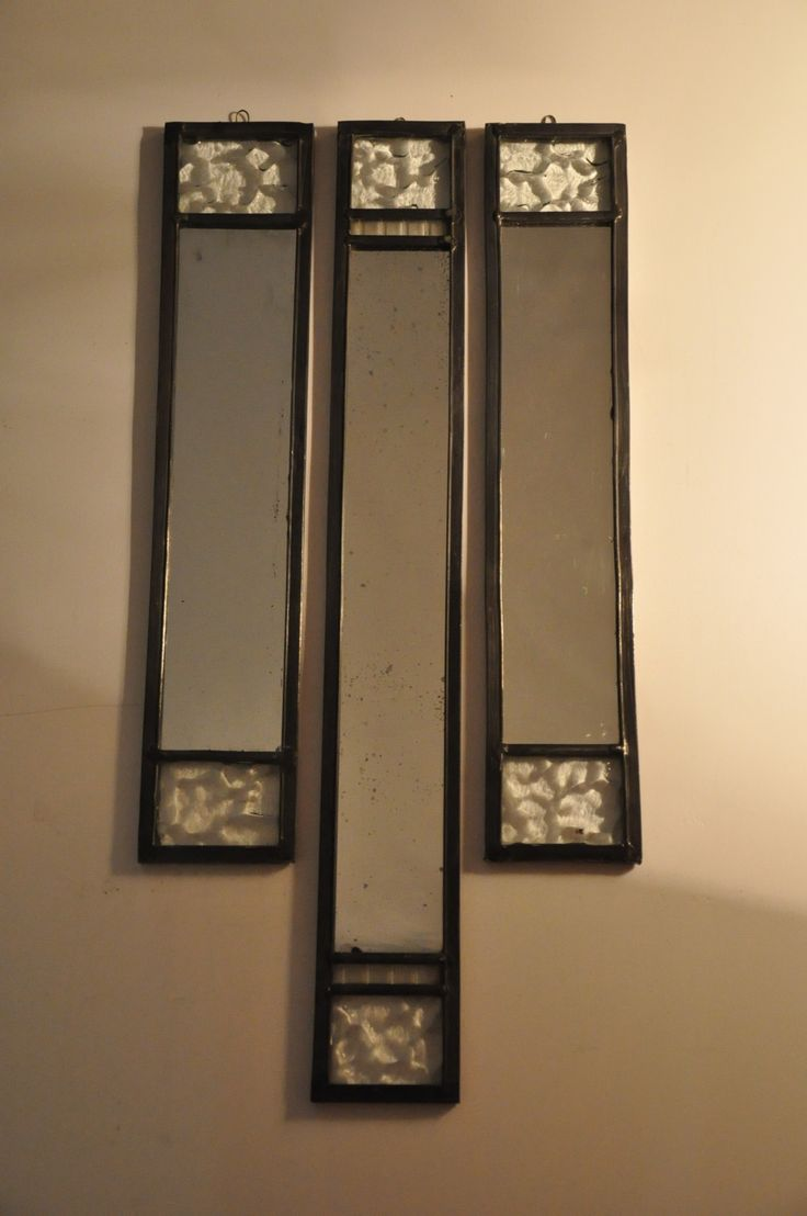 stained galss mirror, deco.