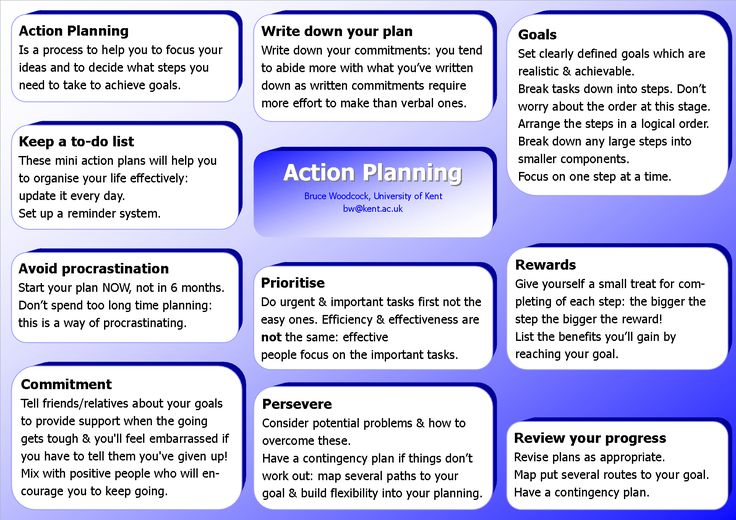 Action plan is one of the key components of successful project - project action plan template