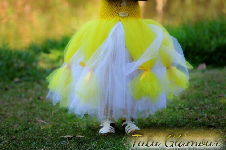 Yellow tutu skirt