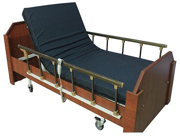 Ev Tipi Ahşap Bazalı Hasta Karyolası demir iç kasa üzerine giydirilmiş ahşap ile görselliği ön planda olan 2 motorlu hasta karyolaları içerisinde en çok tercih edilen bazalı hasta karyolası modelidir. Sistem içerisinde bulunan alüminyum tabanca korkuluk sistemi sayesinde güvenli pozisyon verebilen ev tipi hasta yatağı çeşitlerindendir http://www.medikalsaglikurunleri.com/ev-tipi-ahsap-hasta-karyolasi-2-motorlu-pmu950