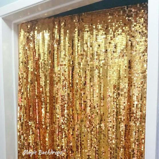 Welcome to Magic Backdrops™!! We love to make your special event sparkle!   Here are a few details about our glam sequin Backdrop/ Table Cloth!   Our sequin material is very reflective, vibrant and can be used for:   - Birthday Party Backdrop - Smash the Cake Photoshoot Backdrop - Party Table Cover - Photobooth Backdrop - Festive Door cover   Gives the perfect amount of BLING to any photo and looks amazing in filters on your phone!   ** SAFETY DISCLAIMER ** Sequins can become dislodged f...