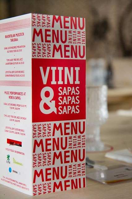 Wine & Finnish Tapas, aka Sapas, Flow Festival 2011.