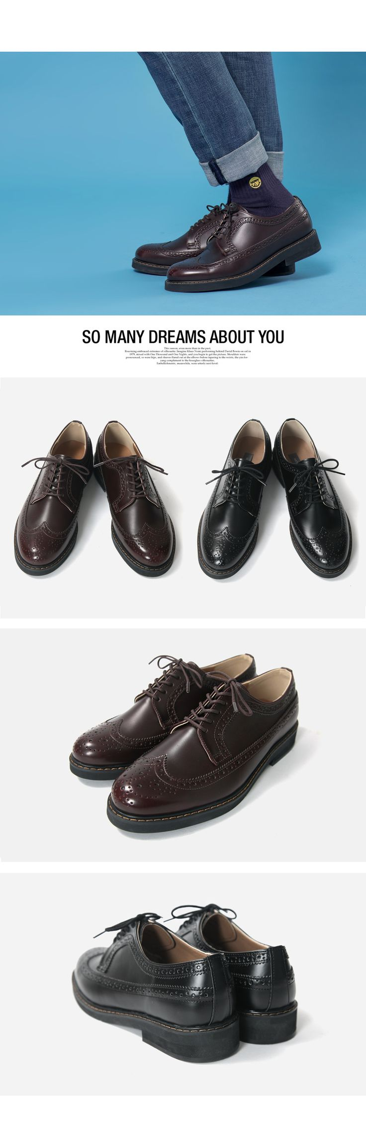 [[MN][Shoes784] 루티크 윙팁 로퍼 슈즈] 남성의류 남자의류 남자코디 남자데일리룩 데일리룩 남자패션 남자옷 남친룩 남친룩코디 윙팁 구두 남자구두 fashion daily mensfashion