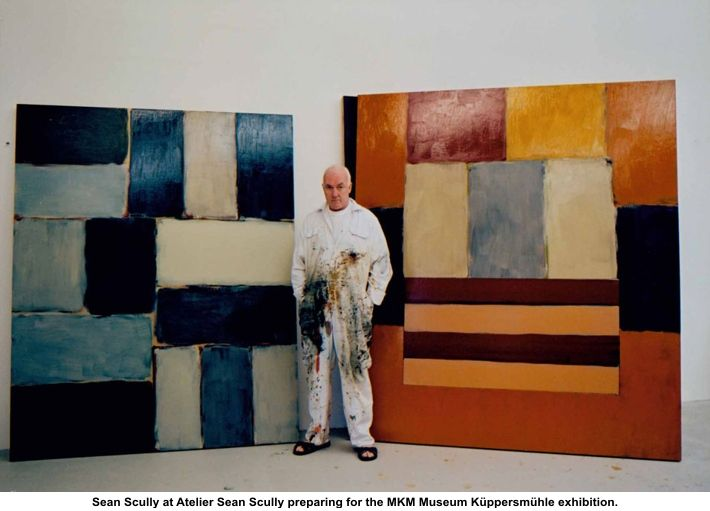 """My paintings talk of relationships. How bodies come together. How they touch. How they separate. How they live together, in harmony and disharmony. The character of bodies changes constantly through my work..."" - Sean Scully"