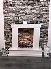 deko kamin attrappe kaminkonsole kaminumbau kaminumrandung landhausstil gute ideen. Black Bedroom Furniture Sets. Home Design Ideas