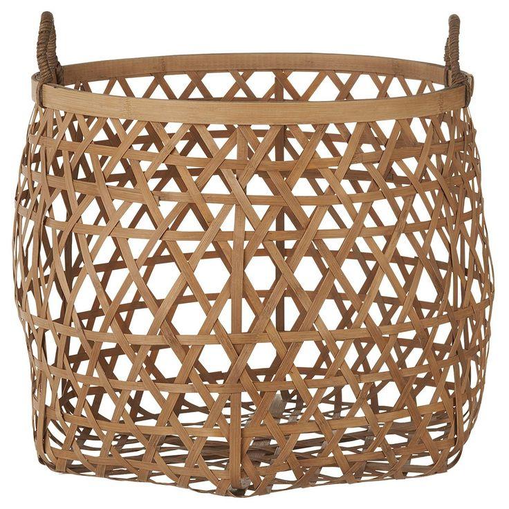 Ronde bamboe mand. doorsnee 36 cm. Past in elk interieur. kwantum_woonahaves_mand1  #kwantum #kwantum_nederland #woonahaves #daarwoonjebetervan