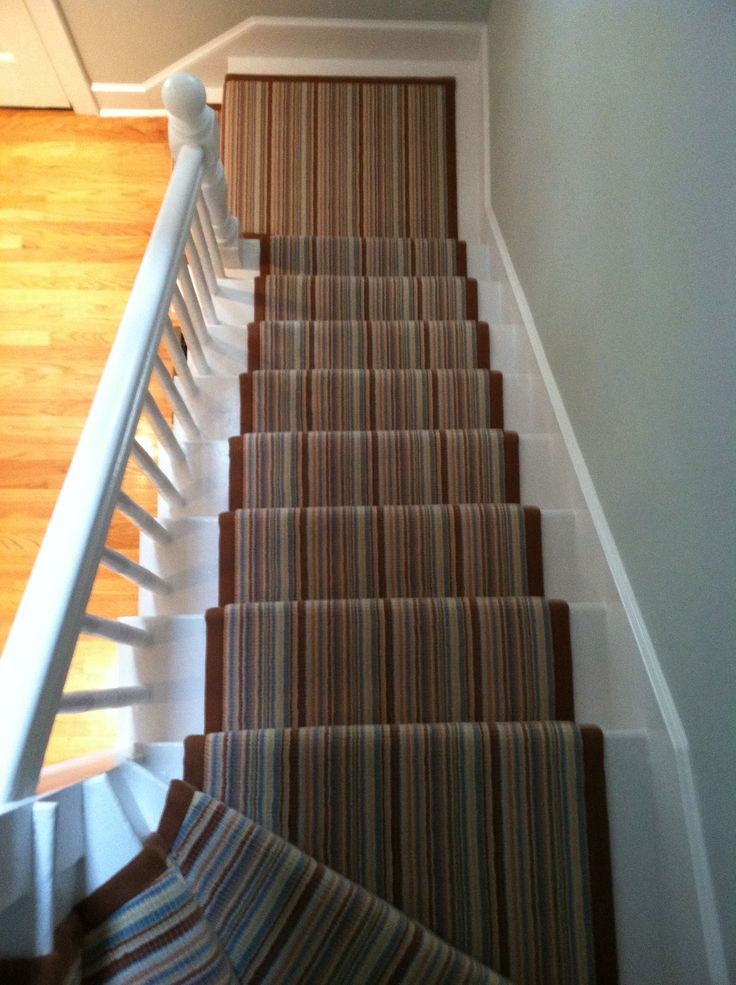17 Best Images About Striped Stair Runners On Pinterest
