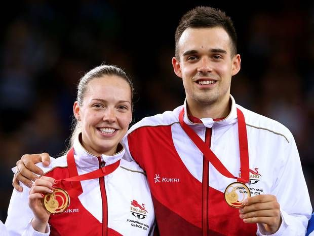 Commonwealth Games 2014: Husband-and-wife team Chris and Gabby Adcock win badminton gold for England