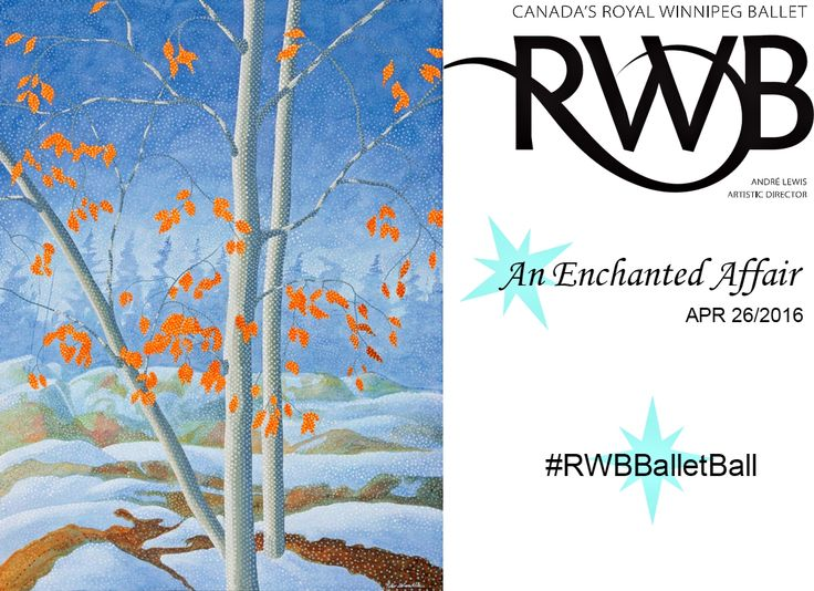 Enter to win this Warm Winter Blues Mayberry Art by Peter McConville at this years Ballet Ball #RWBBalletBall