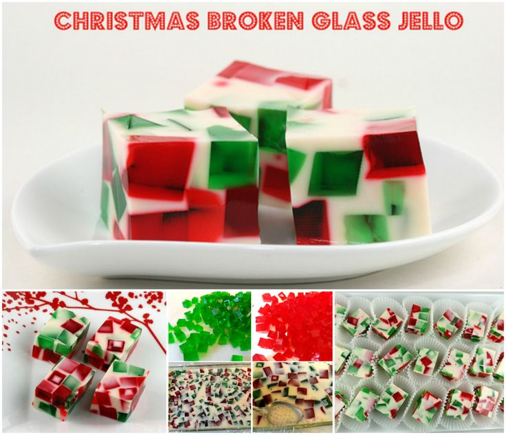 Christmas Broken Glass Jello going to try this easy