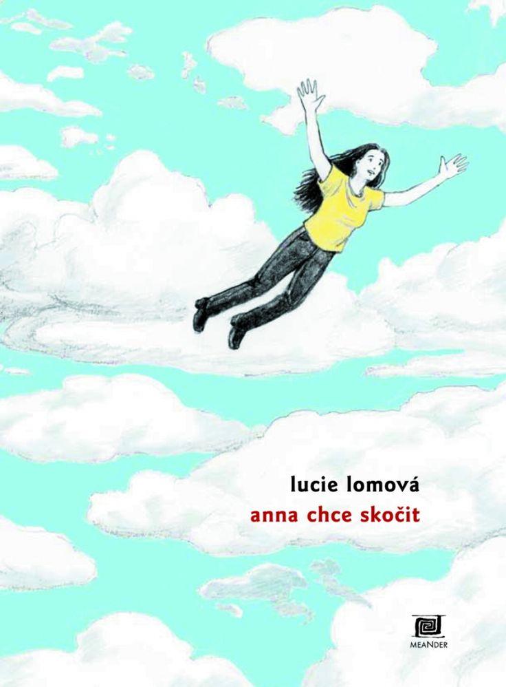 Lucie Lomová - Anna chce skočit #Czech #comics #illustrator #girl #komiks #ilustrace #flying #falling #jumping