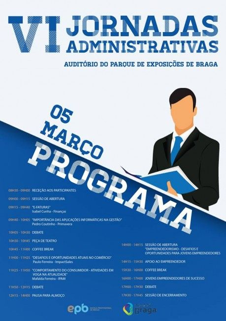 Vasco Marques irá participar nestas Jornadas Administrativas com o tema Empreendedorismo Digital, com transmissão online: www.marketingdigital360.net/blog/empreendedorismodigitalepb