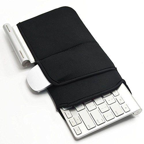 Case Wonder Soft Neue Neopren-H�lle Tragbarer Schutz Rei�verschluss Trage Abdeckung Taschen-Haut f�r Apple Drahtlos Bluetooth Tastatur MC184LL / B MC184CH und MLA22LL / A und Logitech Easy-Schalter K810 / Bluetooth Illuminated K810 Drahtlose Bluetooth Tastatur und Fast 12-Zoll Drahtlose Tastatur, Sc