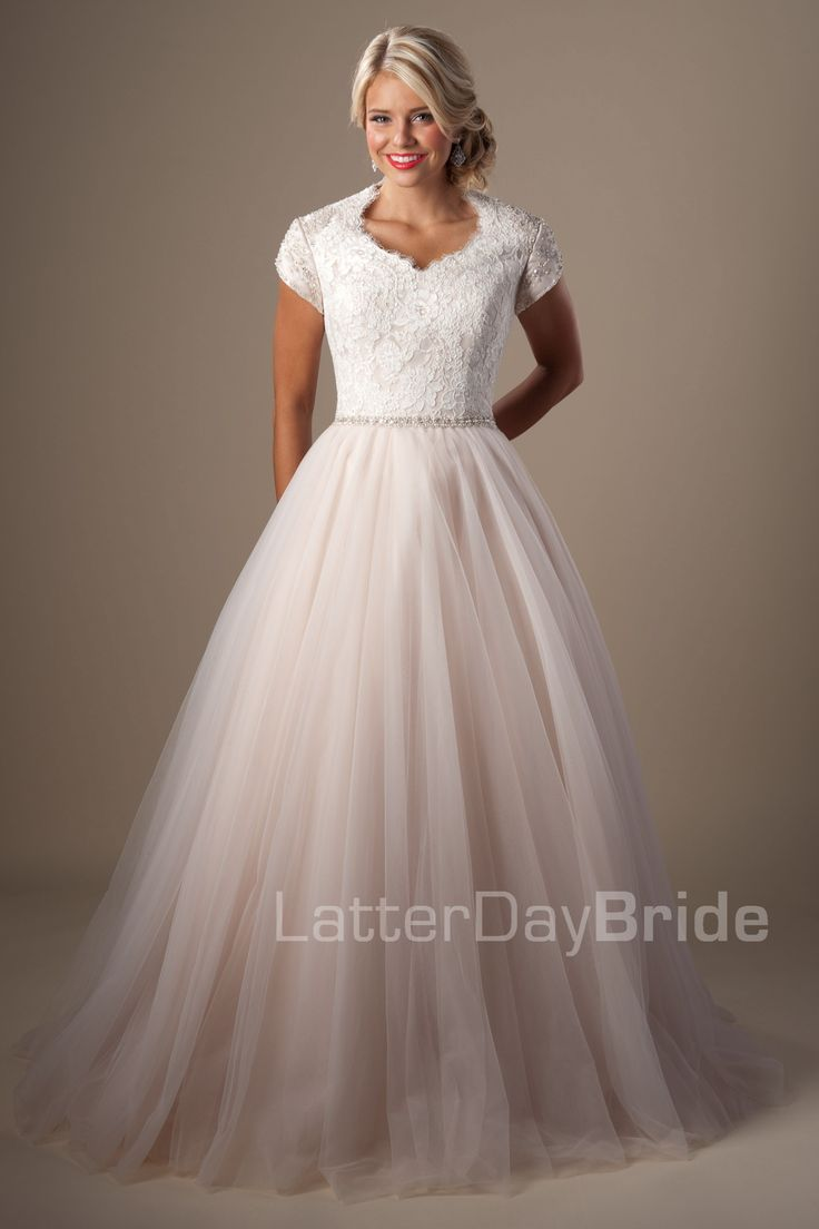 Modest Wedding Dresses : Ravenna. Latter Day Bride, Gateway Bridal & Prom