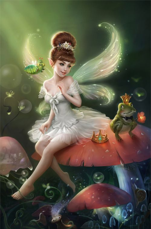 Fairy Princess & Frog