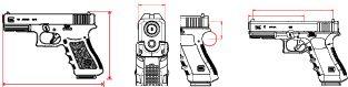 Top Choose For First Time Gun Buyer - Glock 17 Gen4 Find our speedloader now!  http://www.amazon.com/shops/raeind