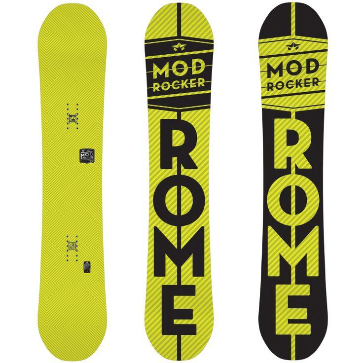 Rome Mod Rocker Snowboard 2014 | evo