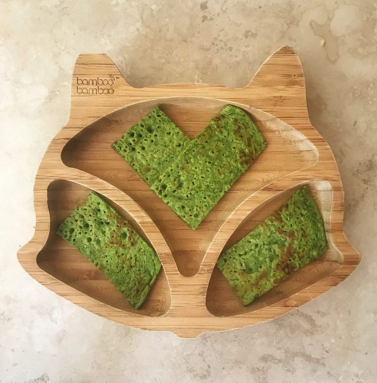 Baby led weaning spinach pancakes recipe with images