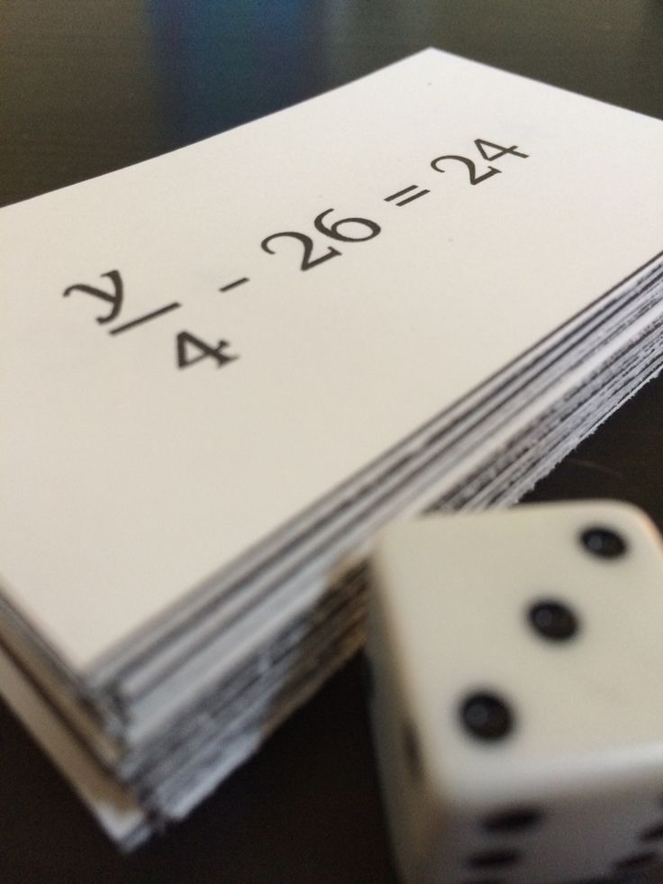 Equation Top-it: Two-Step Equations! It is similar to the card game War but students must solve two-step equations to get their solution.  Comes with a beginner and difficult set (40 equation cards in each set). Great for middle school math classrooms during algebra units. Works as a math center or as a whole class game in partners.
