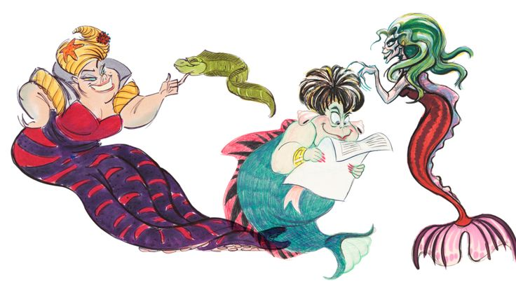 art for Ursula from Disney's The Little Mermaid | The Little Mermaid ...