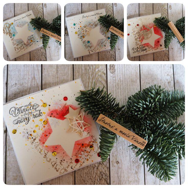 Vánoce přicházejí / Christmas is coming   #crazycatcz #vánoce #vánočnípřání #přání #vánoceprichazeji #christmascard #christmas #card #christmasiscoming