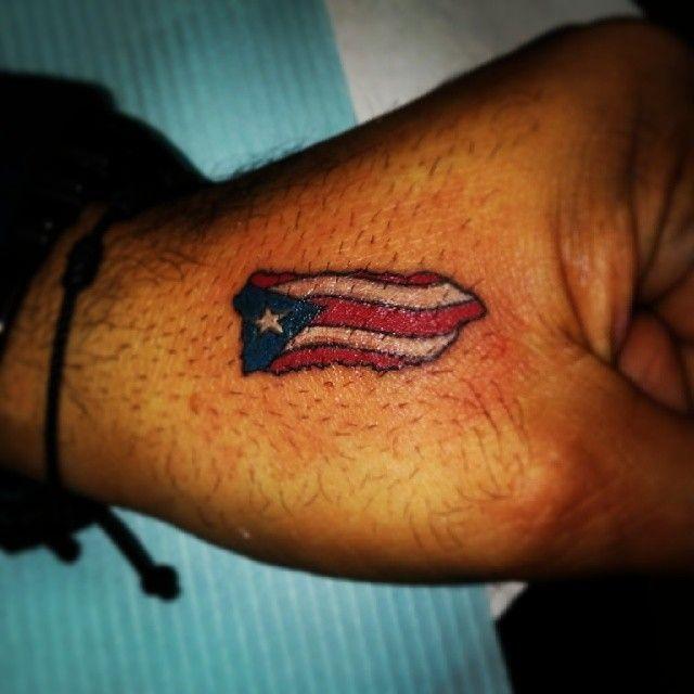puerto rican flag tattoo designs